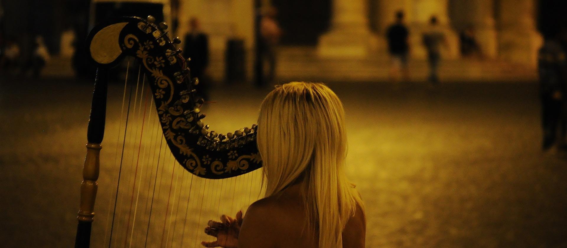 Harp girl